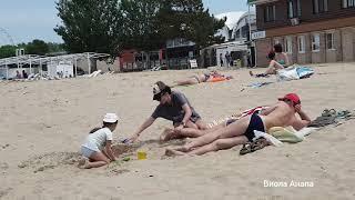 АНАПА 18 мая 2019 центральный пляж парк 30 лет победы Анапка Пионерский проспект