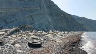 Анапа. Погода 13.06.2017 пляж 800 ступеней Нудисты