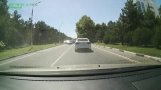АНАПА: Авария на Пионерском проспекте в Анапе ( 02.08.2017)