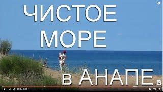ГДЕ ЧИЩЕ МОРЕ?  ???? Анапа. Песчаные пляжи Анапы. Обзор. Пляж Буревестник. 11 июля 2016 года.