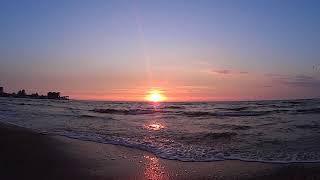 Анапа.     07.03.19г      Закат на море.