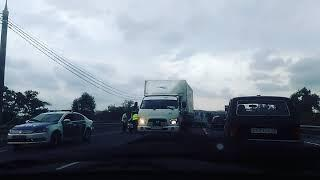 Анапа,авария в Анапе на Анапе.Сентябрь 2017.
