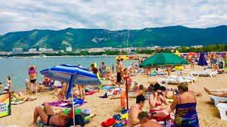 Геленджик. ПОГОДА 2 августа 2019г. Аншлаг на пляжах!