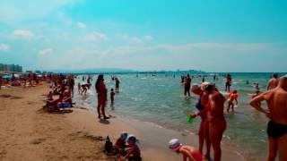 Анапа Джемете видео 2017 пляж море и курортный поселок