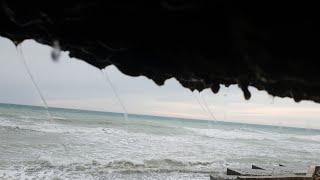 АНАПА погода 11.01.19 каменный и галечный пляж  Высокий берег Малая бухта /Море каждый день/