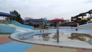 Анапа 12 марта 2019 года  пляж зимний аквапарк  холодновато