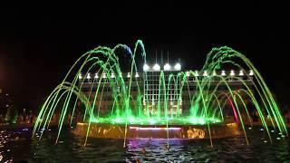 Центральный светомузыкальный фонтан в Анапе