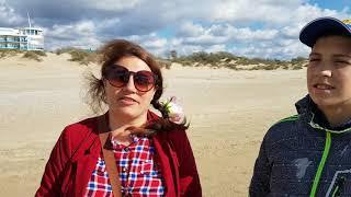 Анапа. Погода 13.10.2017 ШТОРМ. Пляж кристалл и юность