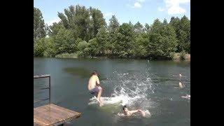 Старооскольцы открыли купальный сезон
