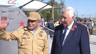 Парк военной техники открыли в Анапе на Симферопольском шоссе