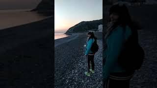 Анапа, Сукко пляж. Отдых в Сукко. Куда поехать отдыхать на море в России. Апрель месяц.