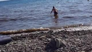 Анапа. Галечный пляж. 09.07.2016.