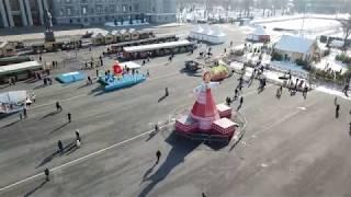 Самара пл.им.Куйбышева Масленица 2018