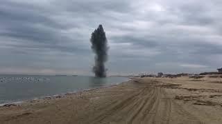 В Анапе рванула морская мина - Саперы обезвредили рогатую в 50-метрах от берега