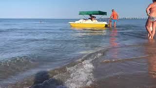 #Анапа#Джемете. Погода. 4.08.2018 море супер в 7:25 утра ????????????