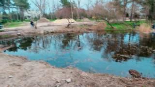 Анапа сегодня видео 2017 смотрим как чистят местную речку