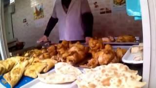 Анапа 2017  Уличная еда Центральный рынок. Food Prices 2017 in Russia