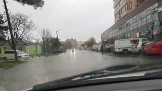 Анапа. Улицы превратились в реки. 21.11.2017