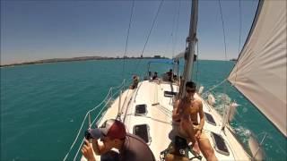 Анапа. Экскурсия на Яхте. Лето 2017