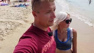 Анапа. Погода. 25.07.2018 Кемпинг - дикий пляж Витязь - Благо - Тортуга