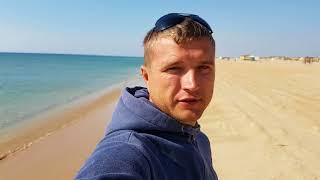 Анапа. Погода 1.10.2017 казачий пляж Витязь