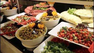Чем кормят в отелях Турции. Завтрак в отеле 5* Eftalia Ocean Шведский стол. Отдых в Турции 2018