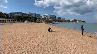 Геленджик. Центральный пляж. Мой рабочий день