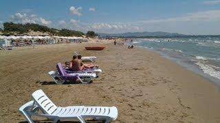 Лучшие пляжи Анапы (на мой взгляд). Пляж №3 (Пионерский проспект, панс. Урал или Ривьера)