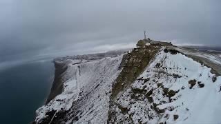 Зимняя Анапа - Супсех лысая гора снег сугробы мороз 2019
