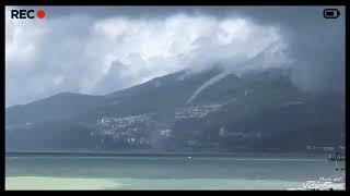 Чёрное море, Смерч. июль 2019 Сочи. Адлер