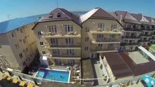 Курортный отель «Ателика Гранд Прибой» (г. Анапа). Территория.