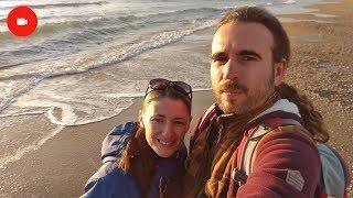 Анапа. Витязево 28.12.2017 Погода, море, пляж, закат в Витязево