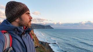 Анапа. Гуляем 8.12.2017 погода море шторм закат набережная Высокий берег Малая бухта