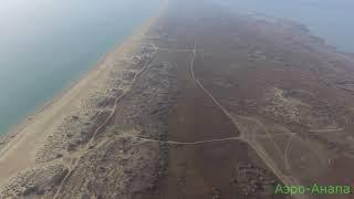Анапа: Пляжи за Паралией продолжение