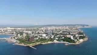 Анапа с квадрокоптера 4К - ВИДЕО СУПЕР!!! Черное Море 2019