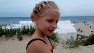 Без солнца на пляже Анапы 15 июля
