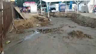 Анапа 10 июля 2019 Центральный пляж после ливня (видео от подписчиков)