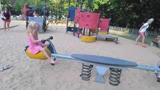 ОБЗОР : ВАРШАВА / дети учатся говорить на польском языке / мега смешно ???? / park Praski/ WARSAW
