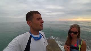 Почему вода в море Сочи холодная в начале июля 2018 / Отдых в Сочи, район Дагомыс