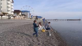 """""""Камни на пляжах? Ужас!"""" Галька или песок,  что лучше? Лазаревское, Сочи, Анапа, Крым."""