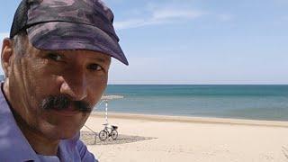 "АНАПА ???? Пляж пансионата ""СОФИЯ"". Камка (водоросли, кладофора бродячия, тина) // 29 мая 2018 года"
