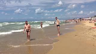 Пляж «Лазурный Берег» «Хуторок» «Кавказ» ШТОРМ