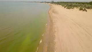 Где НЕТ Тины в Анапе Пролет над Морем, от центральнгого пляжа, до Пляжа Дельфинария