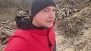#АНАПА - СВАЛКА уборка - РАССВЕТ на МОРЕ 9.03.2019