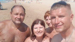 Анапа. Пляж Кавказ 7.08.2017