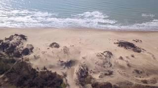 Пляжи были такими - совсем Недавно.... Пляж Юнга, Парк - Отель Лазурный Берег Анапа - 4к полет