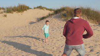 Закат Фотографируем. Пляж Кристалл