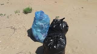Волонтеры убирают пляжи в Витязево