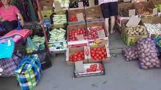 """АНАПА"""" Рынок """"Восточный"""" август цены на мясо, рыбу, овощи..."""