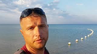 Анапа. Витязево. Погода 11.08.2017 пляж Кавказ супер море